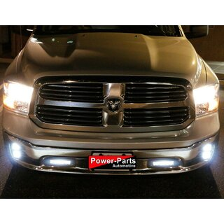 Front Stoßstangen LED Light Bar paar Ram 1500 (Gen.4) Bj:11-18 (Plug & Play Kit)